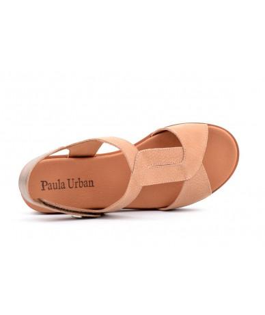 Paula Urban 7-8421 Nobuck Cuero - Lemans Fumo
