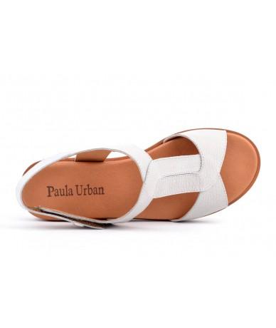 Paula Urban 7-8421 Nobuck Gris - Lemans Argento