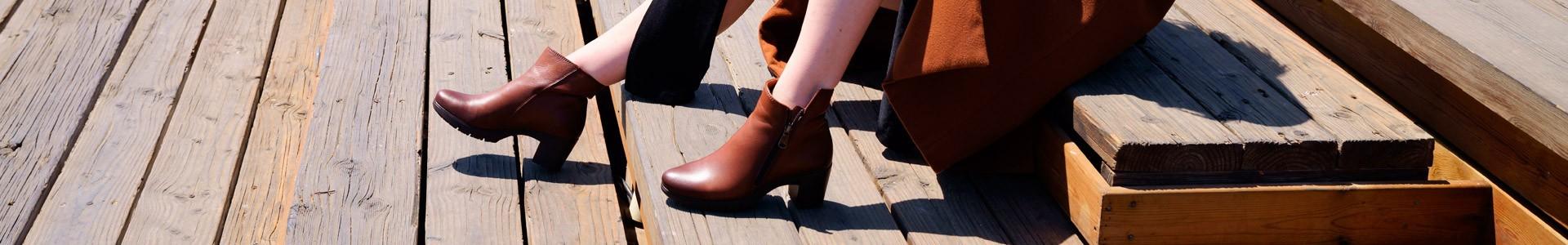 scarpe Stivaletti Tacco